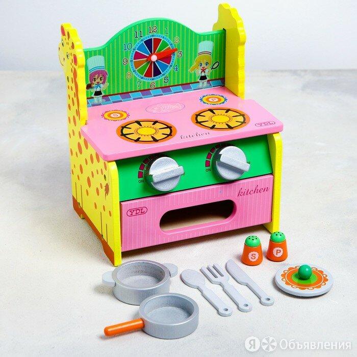 Игровой набор 'Кухня-Жираф' 27x21x7 см по цене 1881₽ - Игрушечная мебель и бытовая техника, фото 0