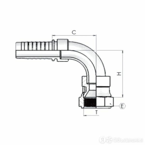 Фитинг DN 20 JIS (90) 30*1.5 по цене 289₽ - Соединители и фитинги, фото 0