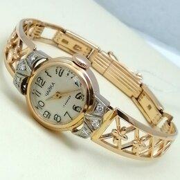 Наручные часы - часы / размер 17 / 19,02г / золото 583 / бриллианты, 0