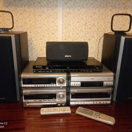 Музыкальные центры,  магнитофоны, магнитолы - Музыкальный центр Aiva XR-AVH 1200, DVD-плеер Pioneer 600-AV, 0