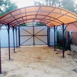 Готовые конструкции - Навес из поликарбоната., 0