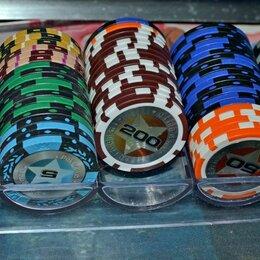 Настольные игры - Набор покерных фишек 88 штук, 0