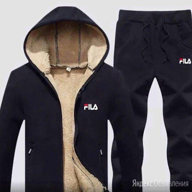 Тёплый мужской спортивный костюм р-ры 44-56 по цене 3300₽ - Спортивные костюмы, фото 0