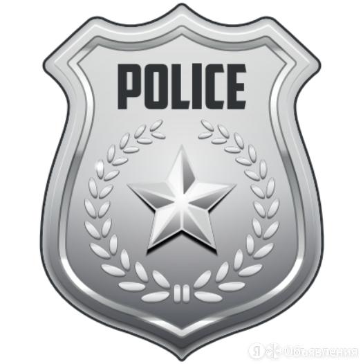 Наклейка для детского электромобиля Полиция по цене 490₽ - Аксессуары и запчасти, фото 0