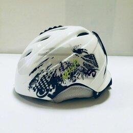 Шлемы - Шлем горнолыжный Naxa бело-серо-зелён (х2), 0