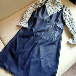 Платья - Сарафан + Блузка, Комплект, 0