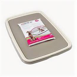 Туалеты и аксессуары  - SAVIC Туалет д/щ особо крупных пород 94.5*64.5*4 см S3242 , 0
