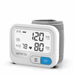 Устройства, приборы и аксессуары для здоровья - Тонометр электронный на запястье YK-BPW5, 0