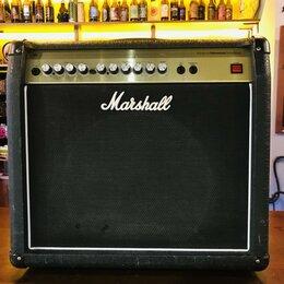 Гитарное усиление - Комбоусилитель для электрогитары Marshall AVT50X, 0