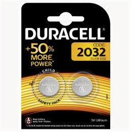 Батарейки - DURACELL Элемент питания CR2032-2BL (20/200/29400), 0