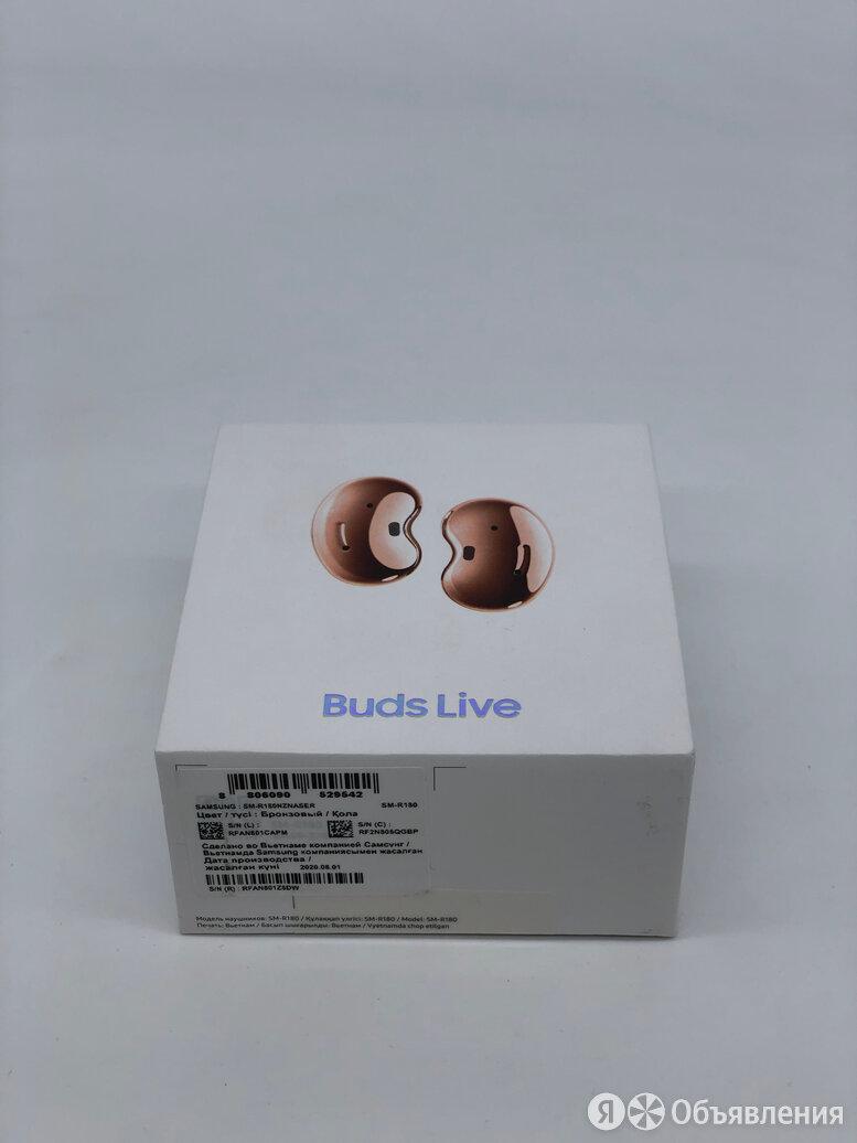 Samsung Galaxy Buds Live по цене 8600₽ - Наушники и Bluetooth-гарнитуры, фото 0
