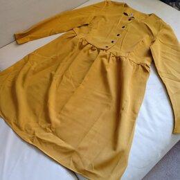 Платья - Платье Горчица, 0