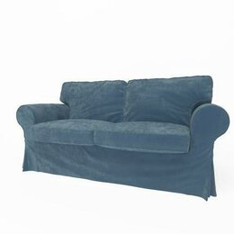 Чехлы для мебели - Чехол для 2-местного дивана-кровати Экторп (икеа), 0