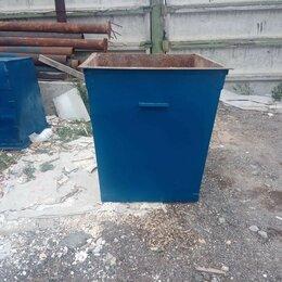 Мусорные ведра и баки - Бак для мусора металлический 0.75 м.куб, 0