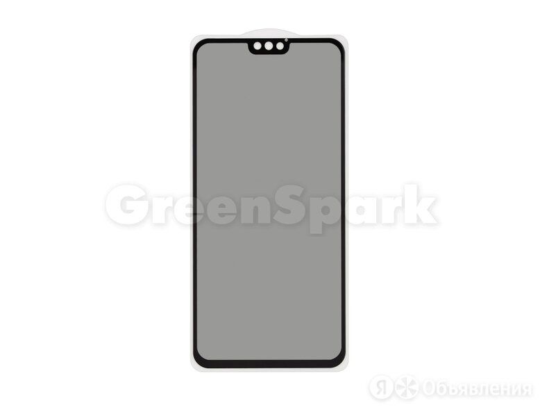 Защитное стекло 3D PRIVACY для Huawei Honor 8X/Y9 2019/Y8s (черный) (VIXION) по цене 300₽ - Защитные пленки и стекла, фото 0