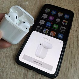 Наушники и Bluetooth-гарнитуры - Наушник apple airpods, 0