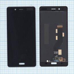 Дисплеи и тачскрины - Дисплей для Nokia 8 черный + тачскрин, 0