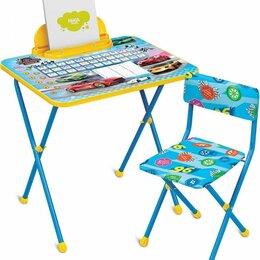 Столы и столики - Комплект детской мебели Большие гонки, 0