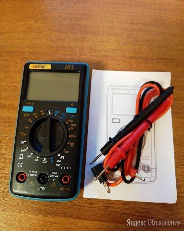 ЦИФРОВОЙ МУЛЬТИМЕТР ANENG M-1 по цене 650₽ - Измерительные инструменты и приборы, фото 0