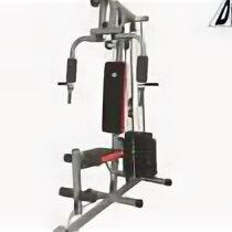 Тренажеры со встроенными и свободными весами - Силовой комплекс с верхней тягой DFC D7000, 0