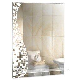 Зеркала - Серебрянные зеркала Зеркало настенное Серебрянные зеркала Пиксели  535х750 с ..., 0
