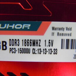 Модули памяти - Оперативная память JUHOR DDR3 8 ГБ(1866), 0