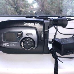 Видеокамеры - Видеокамера VHS C JVC GR AX 637E, 0