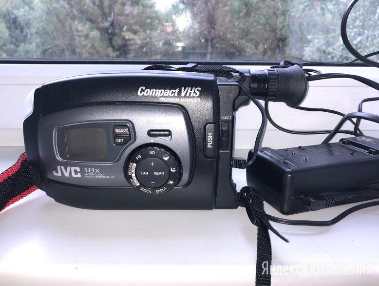 Видеокамера VHS C JVC GR AX 637E по цене 1000₽ - Видеокамеры, фото 0