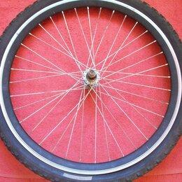 """Обода и велосипедные колёса в сборе - Колесо  """"24"""" (от горного велосипеда)-переднее, 0"""