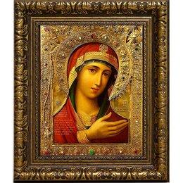 """Картины, постеры, гобелены, панно - Икона Божьей Матери """"Скоропослушница"""" на холсте. Невский список., 0"""