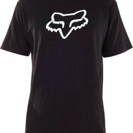 Защита и экипировка - Футболка велосипедная FОХ Legacy Fox Head SS Tee, Black (Размер: M), 0