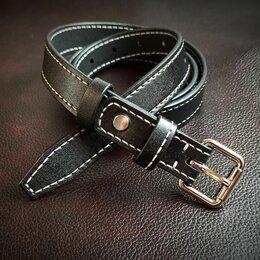 Ремни, пояса и подтяжки - Ремень женский кожаный, 0