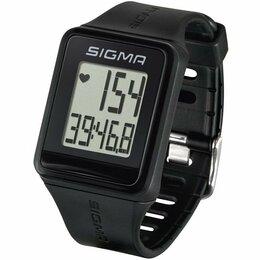 Другие тренажеры для силовых тренировок - Пульсометр Sigma Sport iD.GO черный, 24500, 0