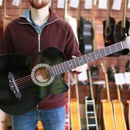 Акустические и классические гитары - Акустическая гитара Belucci BC3820 BK черная, 0