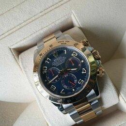 Наручные часы - Rolex Cosmograph Daytona 40mm Steel and Yellow Gold 116523 blue, 0