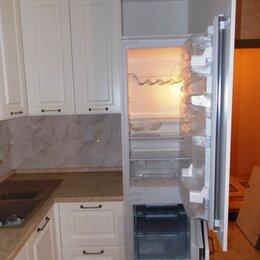 Мебель для кухни - Маленькие кухни со встроенным холодильником, 0