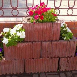Садовые фигуры и цветочницы - Вазоны для уличных цветов бетон, 0