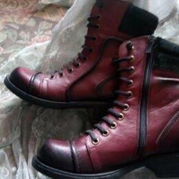 Ботинки - Ботинки dr martens. Полусапожки из натуральной кожи. НОВЫЕ., 0