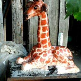 Садовые фигуры и цветочницы - Жирафенок , 0