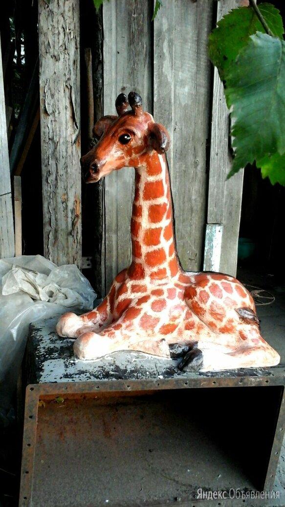 Жирафенок  по цене 7000₽ - Садовые фигуры и цветочницы, фото 0