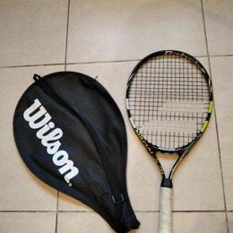 Ракетки - Детская Ракетка Babilat для тенниса с чехлом, 0