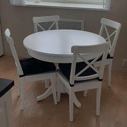 Столы и столики - Стол и стулья из массива, 0