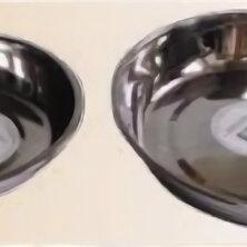 Кружки, блюдца и пары - Блюдце метал. нерж. D=20см , 0