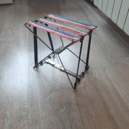 Походная мебель - Стульчик складной туристический  , 0