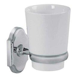Мыльницы, стаканы и дозаторы - Veragio Стакан для зубных щёток 1 -ый настенный Veragio Stanford VR.STD-7740 ..., 0
