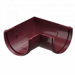 Кровля и водосток - Угловой элемент желоба ДЕКЕ STANDARD d120мм 90 градусов цвет Красный, 0