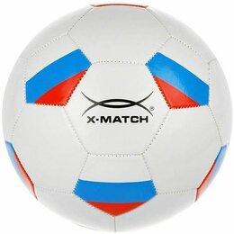 Мячи - Мяч футбольный x-match, 1 слой pvc, машин.обр., 0