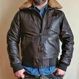 Куртки - G-Star Raw Bollard Leather Bomber, 0