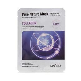 Маски - Тканевая маска для лица с коллагеном Secriss Sheet Mask Collagen, 25 мл, 0