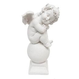 Куклы и пупсы - Сувенир Ангел спящий на шаре полистоун 20см 4873, 0